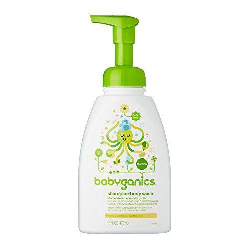 Babyganics Shampoo Body Wash Chamomile Verbena 16 Oz Shampoo