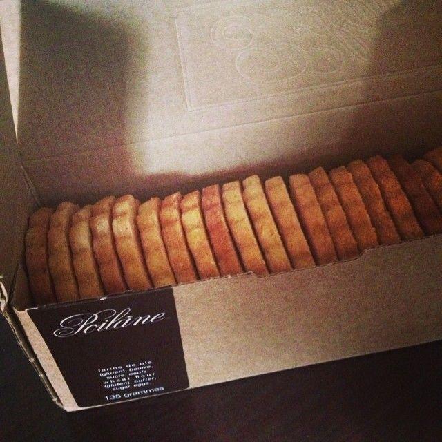 @tamamae パリ土産なんだけど、美味しすぎてもう無くなった。 #poilane