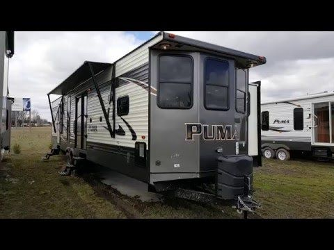 Astounding 2017 Puma 39Bht 2 Bedroom Park Model Trailer Camp Out Rv Download Free Architecture Designs Grimeyleaguecom