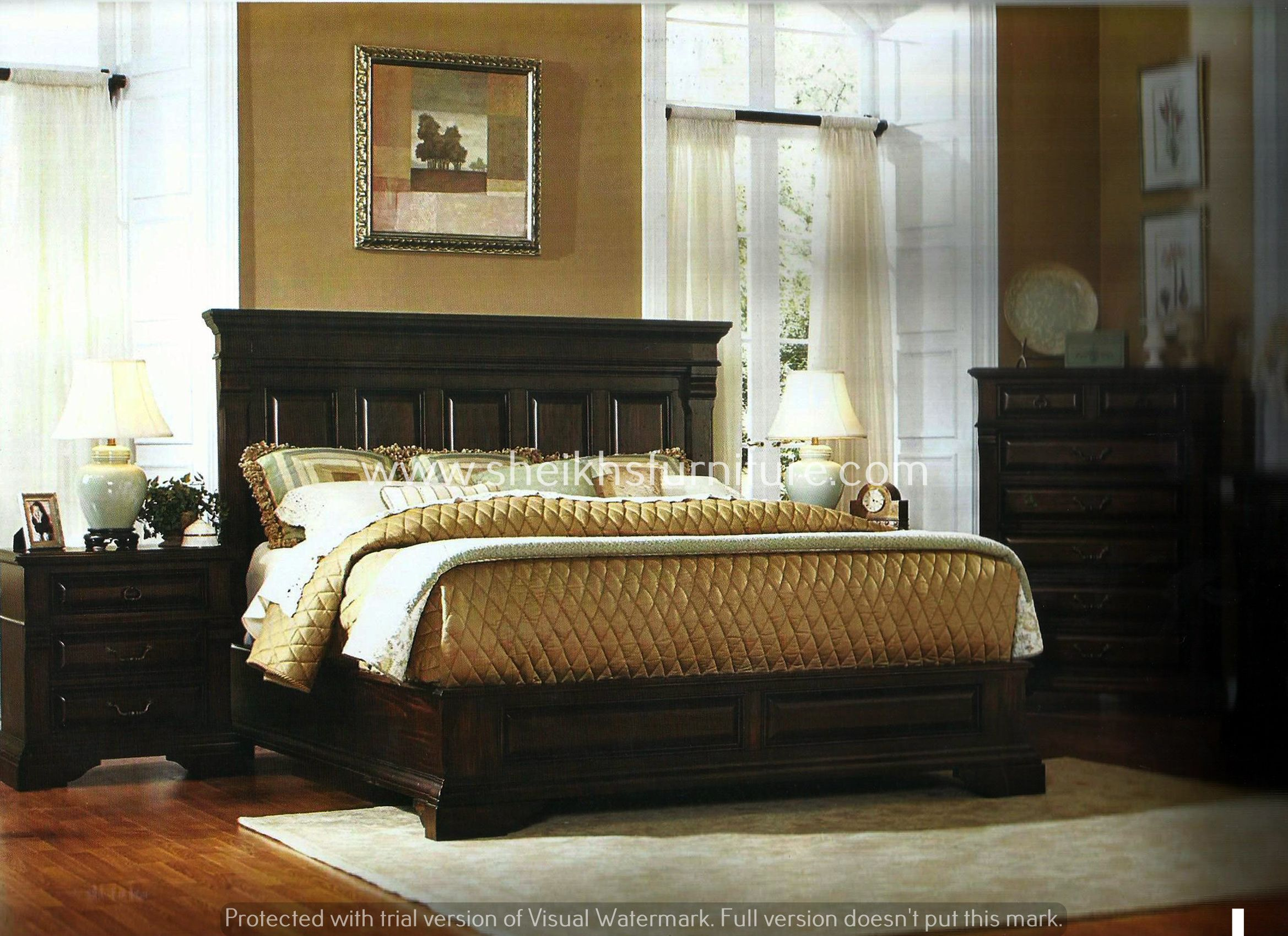 This is our solid rosewood bed this bedroom set is made for Bedroom ideas in pakistan
