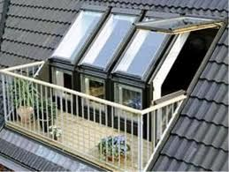 Velux Cabrio Google Search Roof Balcony Roof Window