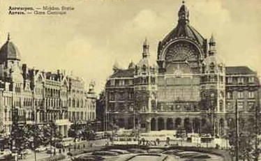 Centraal Station, Middenstatie en Astridplein