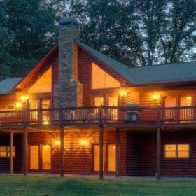 The Mountain Memories Is A Gorgeous 4 Bedroom Cabin With Hot Tub