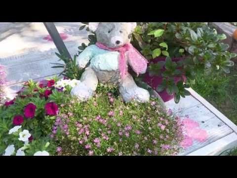 Beton Selbstgemacht Teddy Aus Beton Youtube Alte Teddybaren Selbstgemachte Tongefasse Basteln Mit Beton