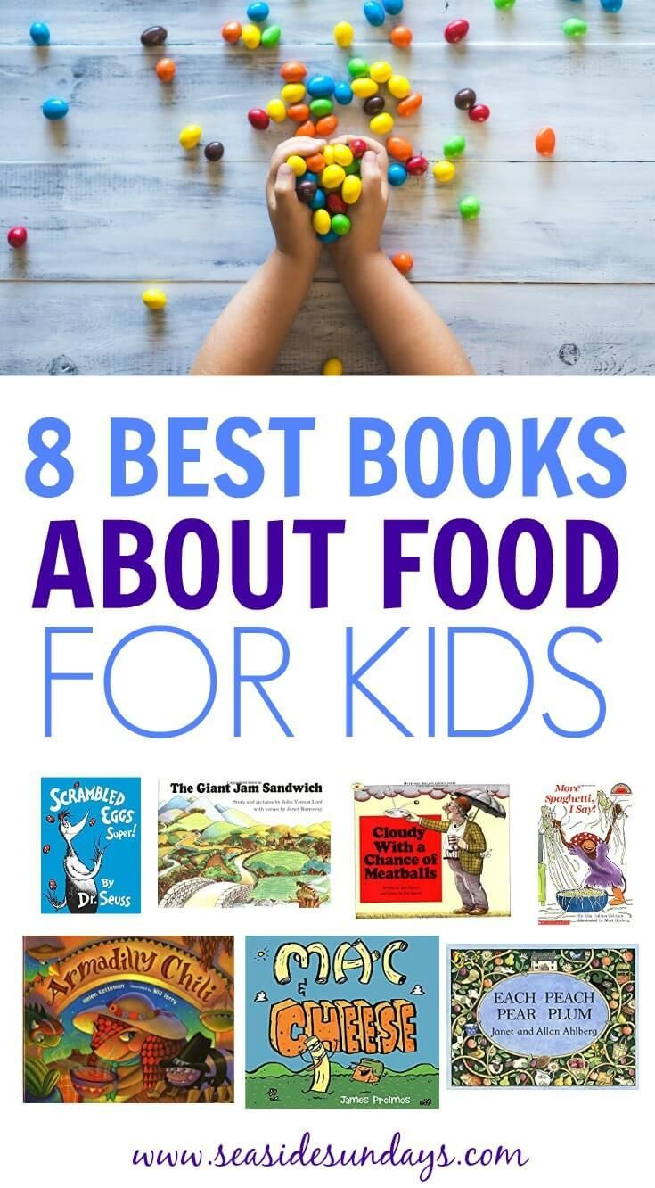 8 books to teach kids about food kids nutrition