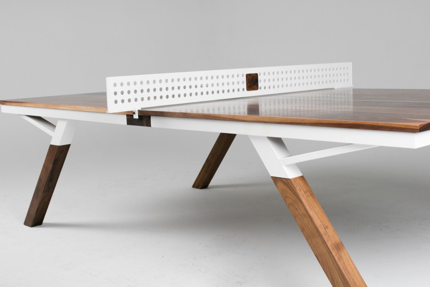 Woolsey Ping Pong Table Black Walnut Multiple Colors