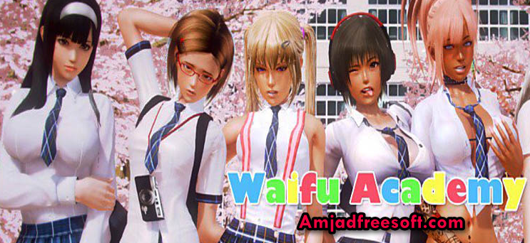 caac9e8820 Waifu Academy v0.5.8a MOD APK All characters in this game are fictional and  not intended to appear real