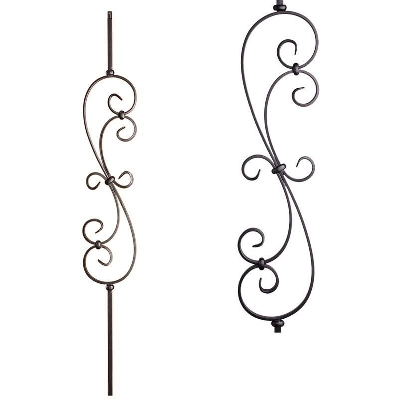 Best 16 1 25 T Large Spiral Scroll Hollow Cheap Stair Parts 640 x 480
