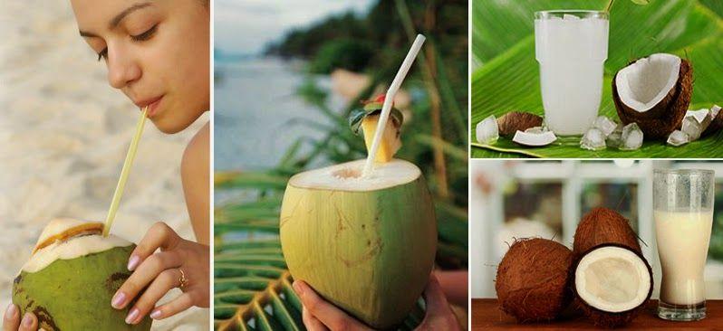 Los beneficios de beber agua de coco - Vida Lúcida