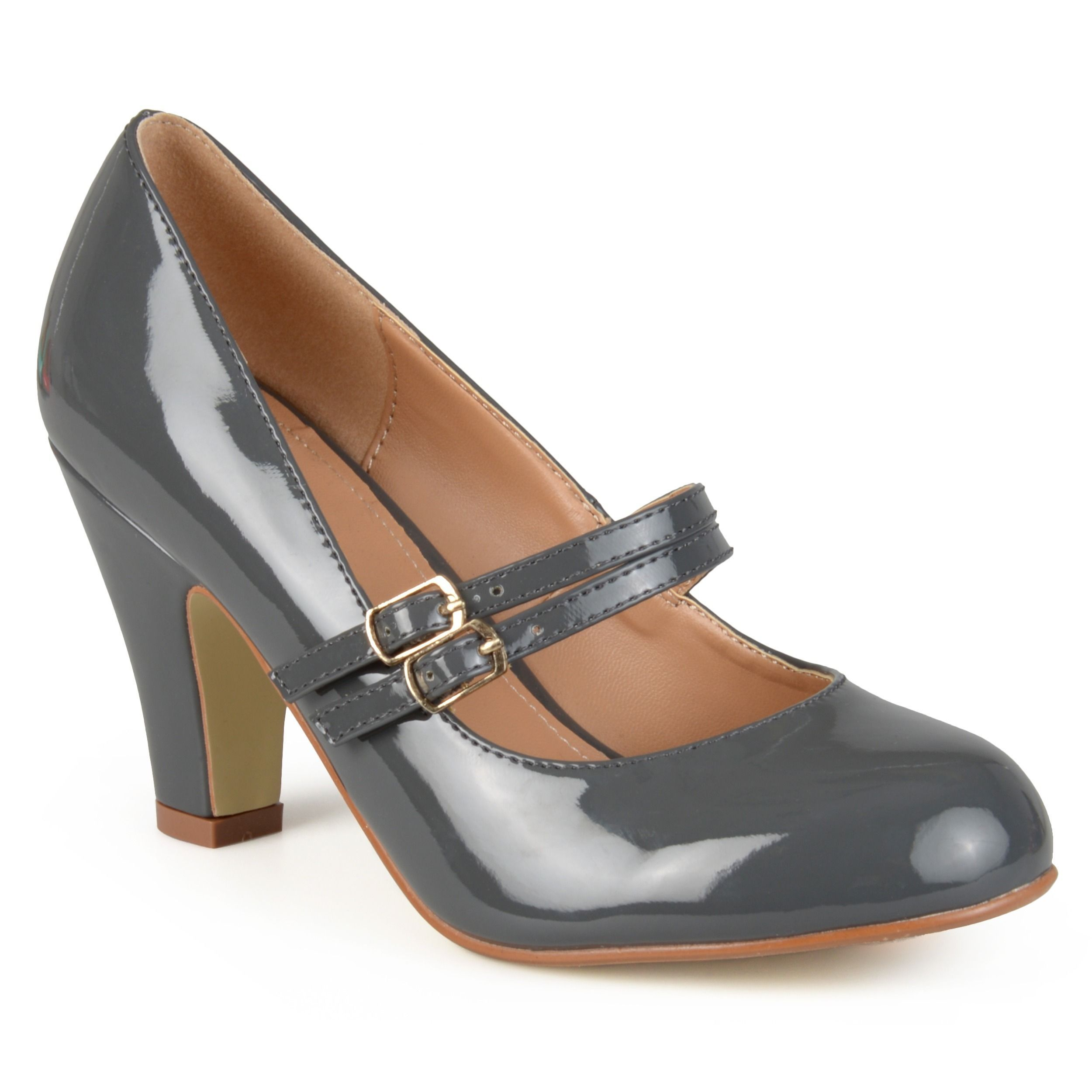 Journee Collection Women's 'Wendy-09' Mary Jane Faux Pumps