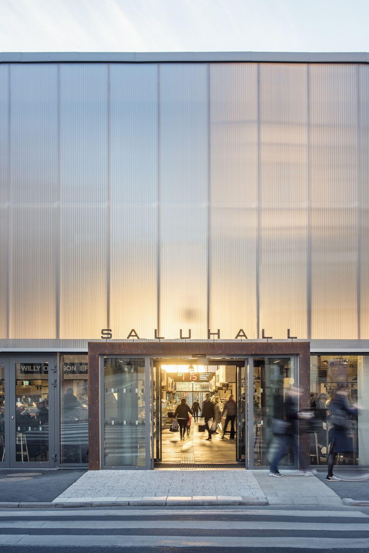 Erfolgsarchitektur Tempor 228 Re Markthalle In Stockholm