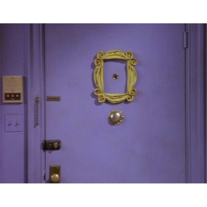 Beau My Hours Will Have A Purple Door #Friends #Monica Door Handles, Bucket,