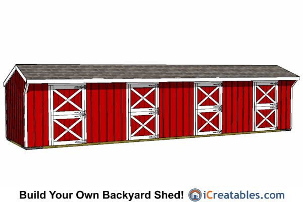 Run In Shed Plans Building Your Own Horse Barn Icreatables Run In Shed Horse Barn Plans Small Horse Barns