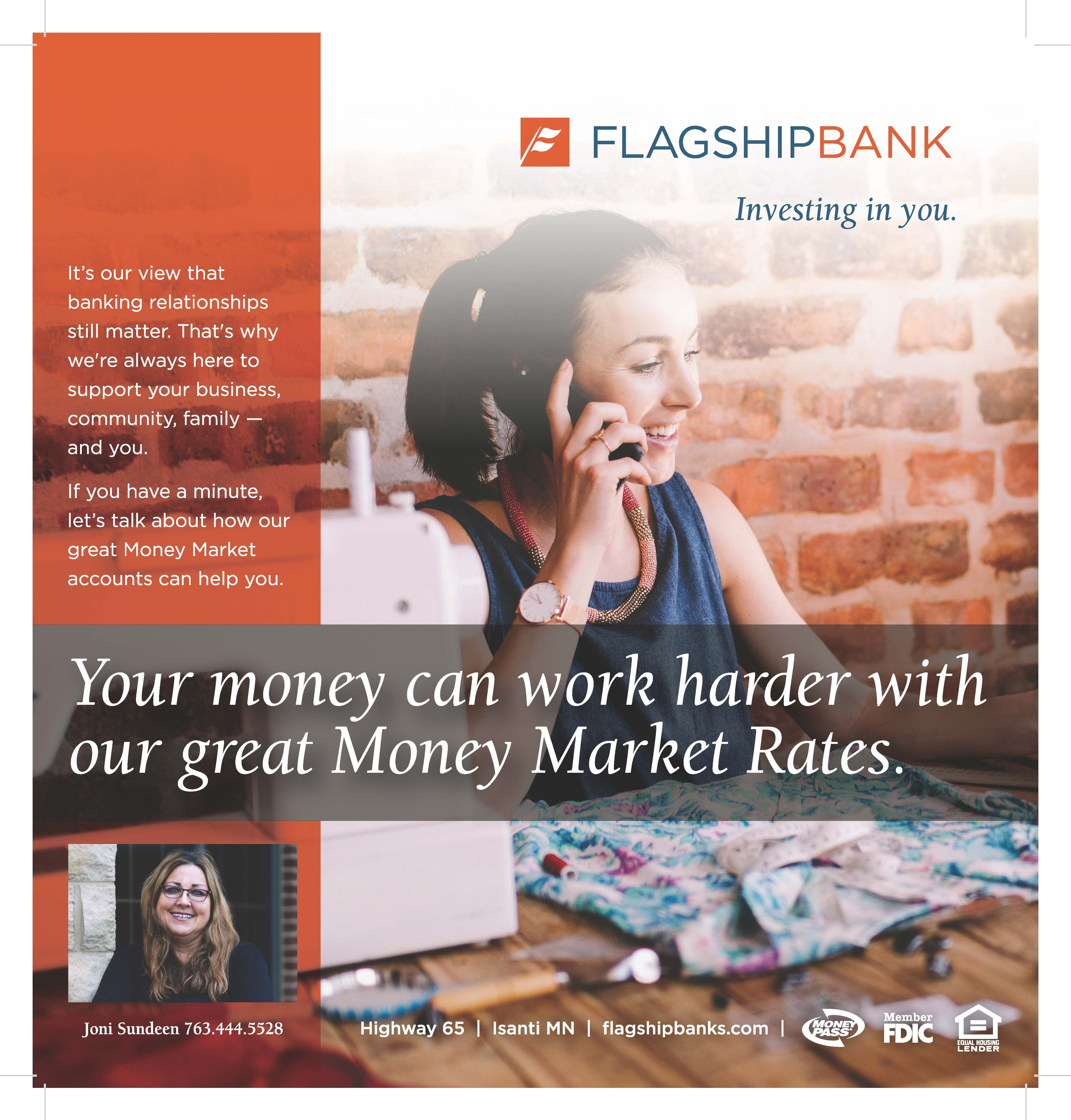 Flagship Bank 2018 Advertisement For Local Newspaper Seamstress Bankads Advertising Communitybank Smallbiz Ads Banks Bank Flag Banks Ads Banking Ads