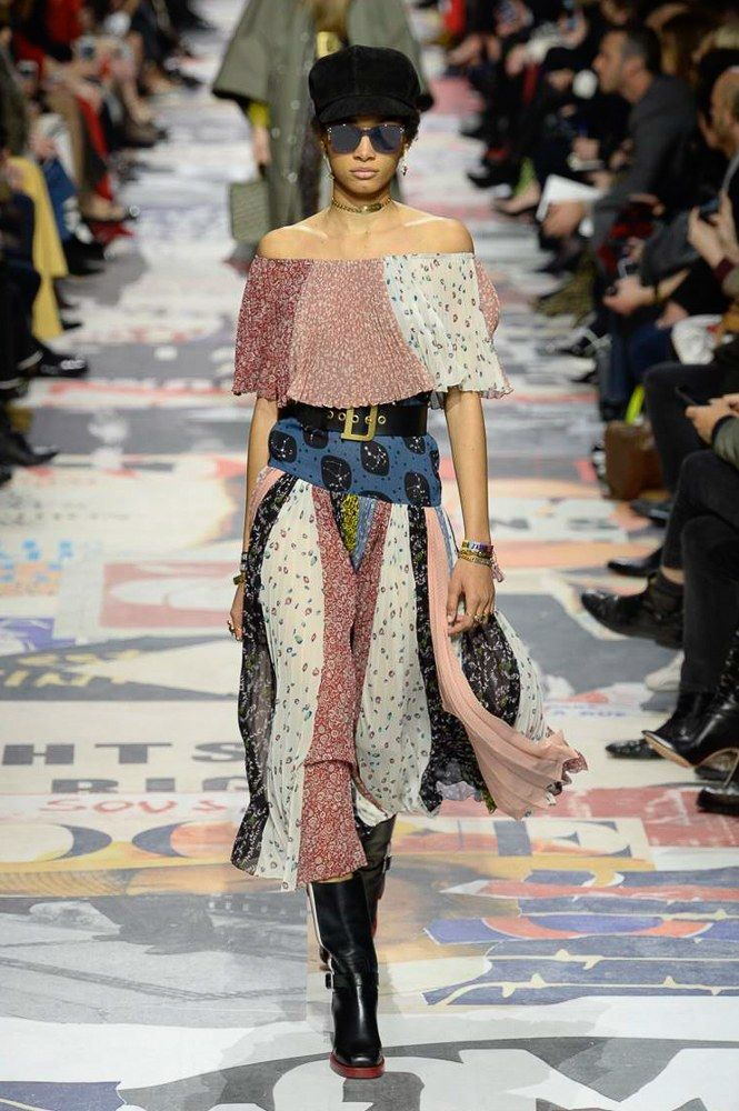 d365042e895 Christian Dior Fall 2018 Ready-to-Wear Fashion Show | Kult & Kitsch ...