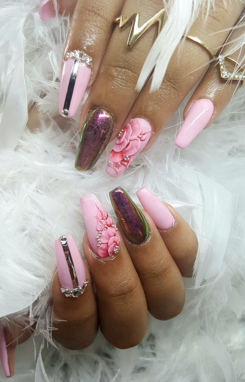 Omgg love my nails ❤ | MY TENTATION | Pinterest | Nail salons