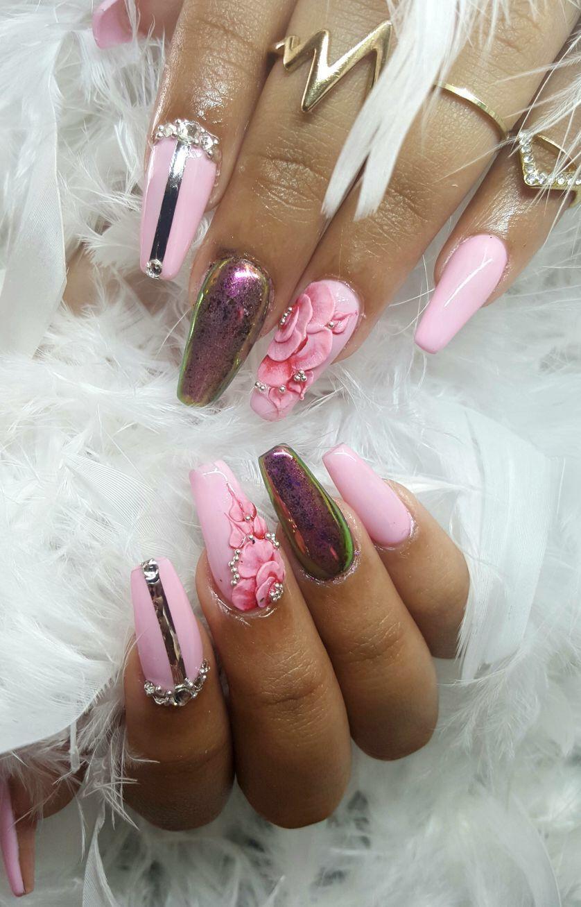 Omgg love my nails ❤ | NAILS!!!!! | Pinterest | Nail salons
