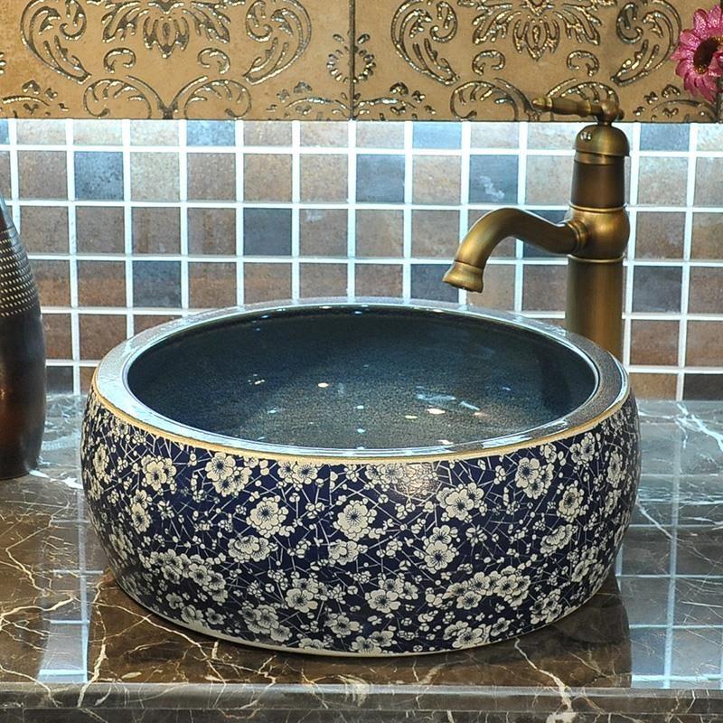vasque ceramique ou porcelaine Pas cher Salle de bains en céramique éviers en porcelaine lavabo En Céramique  Vasque Lavabo Salle