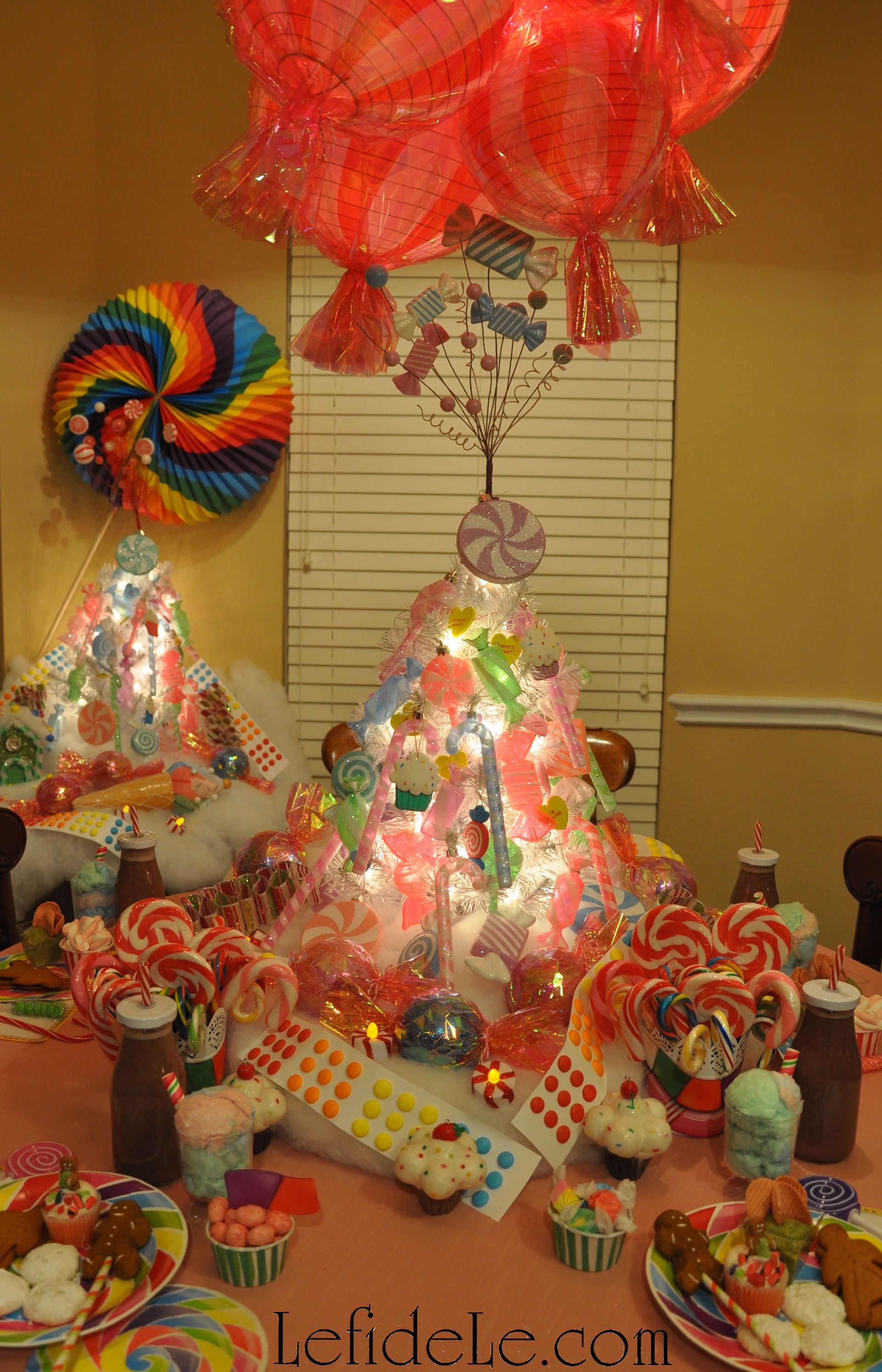 DIY Candyland Party Themed Craft Tutorial: Hard Candy Lanterns ...