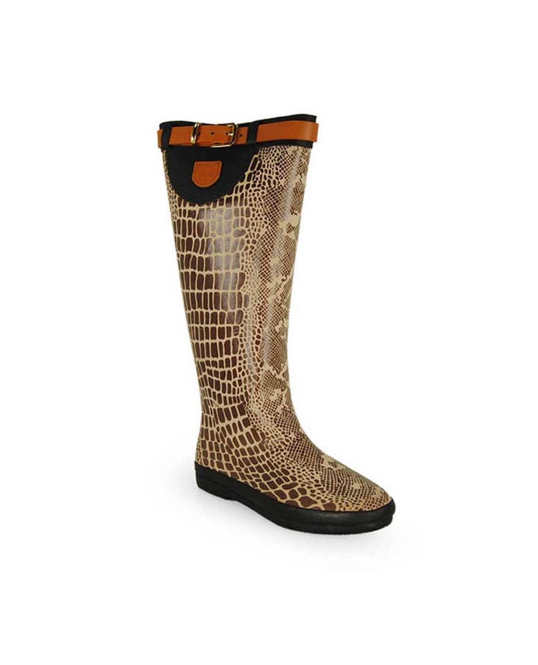 32edbde73a8 Botas de agua MARIA MARE beige 68702 | Zapatos del mundo | Botas de ...