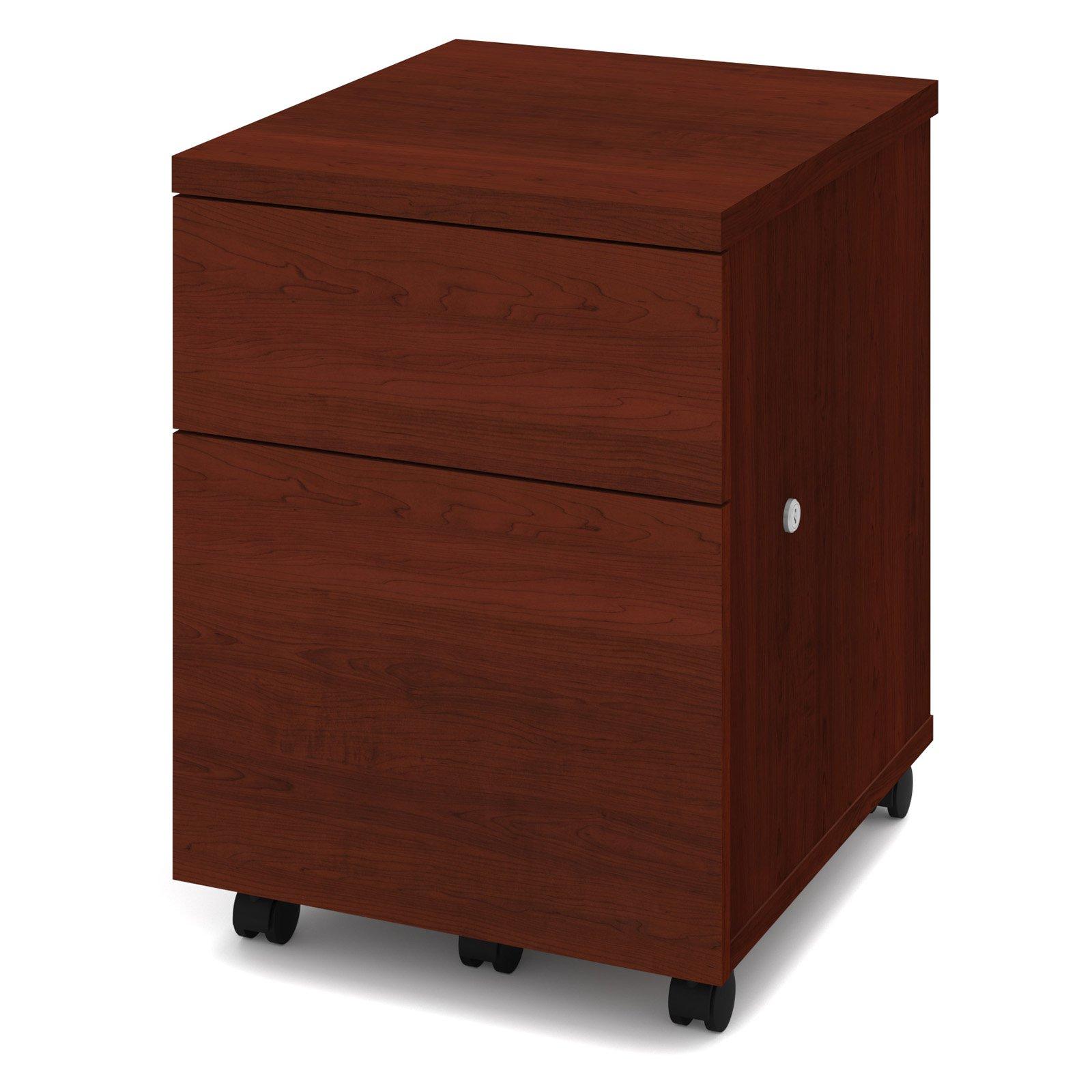 Bestar 1u1f Mobile Pedestal File Cabinet Products In 2019