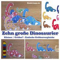 Projekt dinosaurier kindergarten und kita ideen for Herbstprojekt im kindergarten