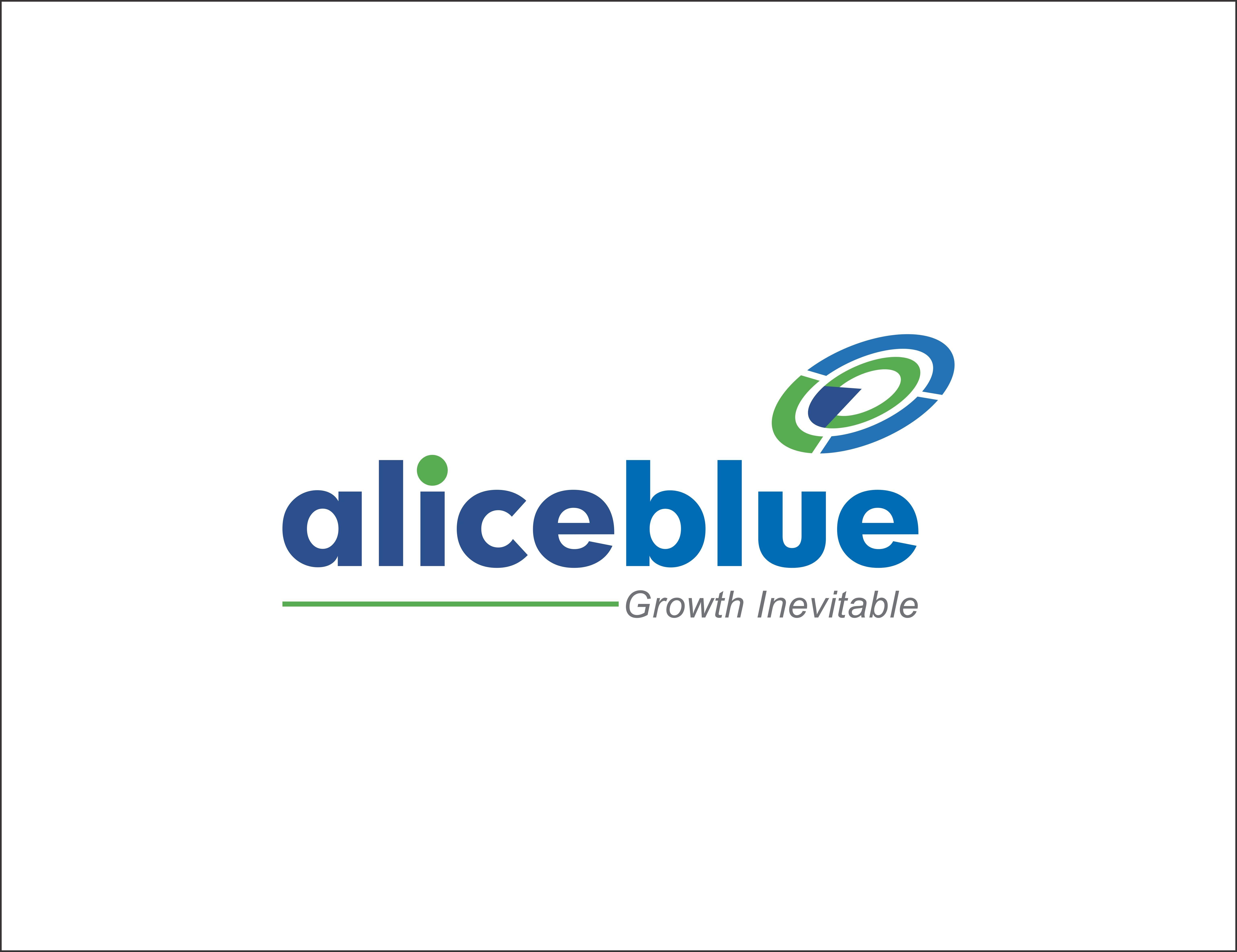 Alice Blue Logo Designed By Brand Care Communications Blue Logo