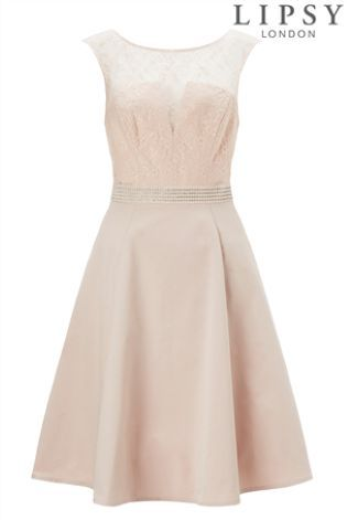Buy Lipsy Tall Lace Top Prom Dress from the Next UK online shop ...