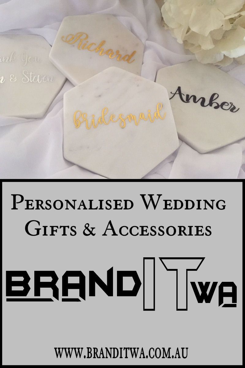 Diy coaster decal sticker for favours brand it wa decals