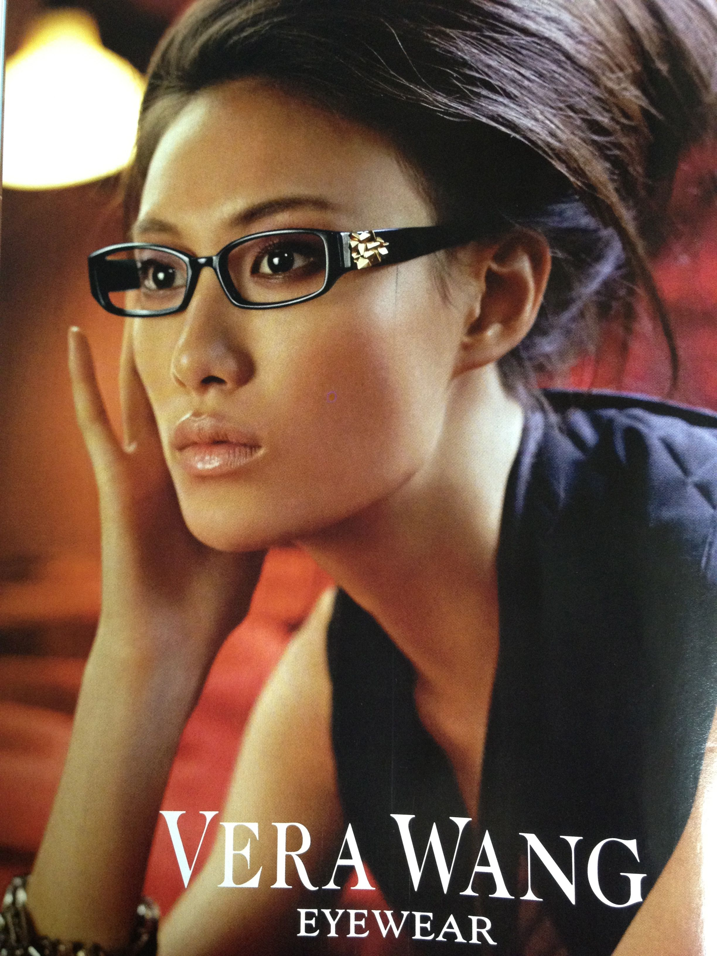 d9d163edd8 Because I don t wear contacts every day-Vera Wang eye glasses.WANT ...