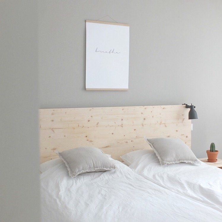 Ikea Hack Neue Ruckwand Fur Das Malm Bett Wohnen Wohn Schlafzimmer Malm Bett