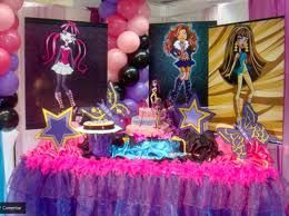 Fiesta temática Monster High