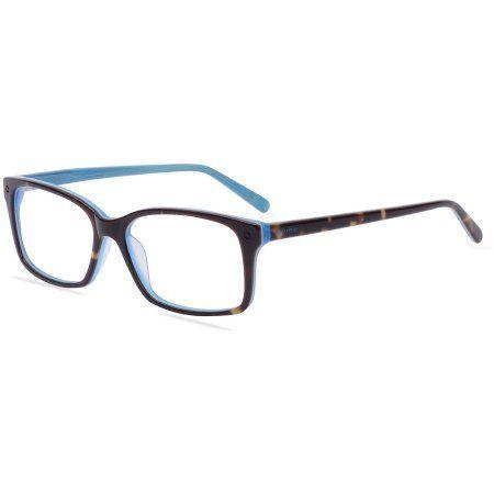 Pomy Eyewear Womens Prescription Glasses, 395 Teal - Walmart.com ...