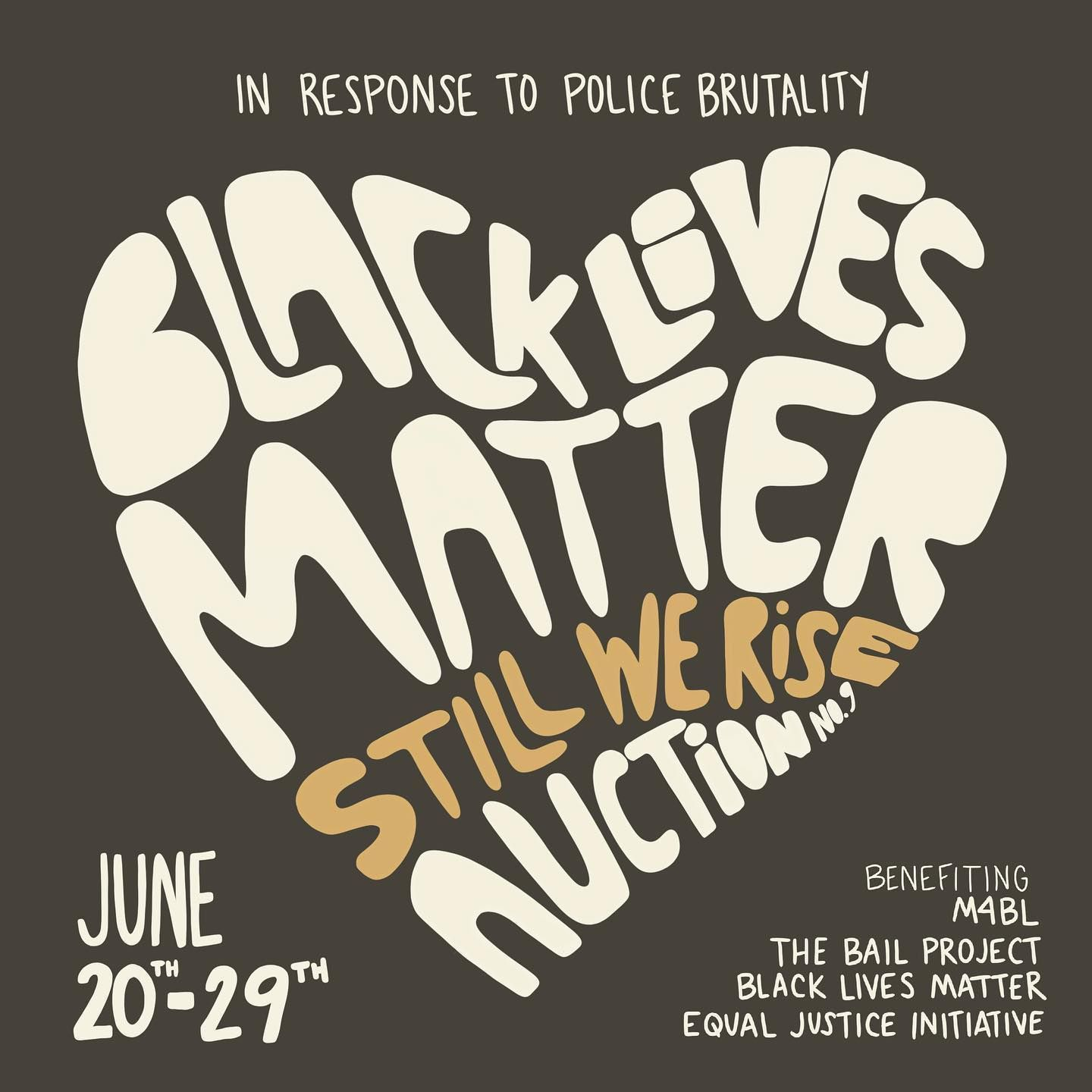 If Youre A Maker Theres Still Time To Help Raise Funds For Equal Justice Initiative Eji Org M4bl Mvmnt4blklives Th Black Lives Matter Justice Black Lives