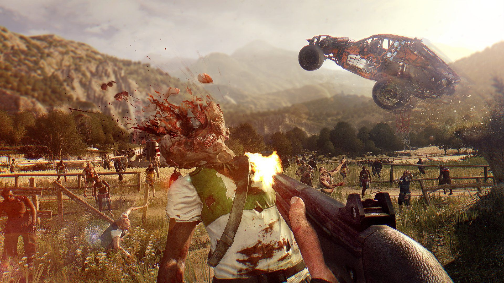 Dying Light HD Wallpapers Backgrounds Wallpaper 1366x768 The Following 45
