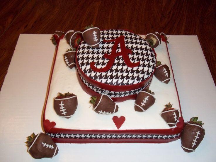 Alabama Birthday Cake University Of Alabama Pinterest Alabama