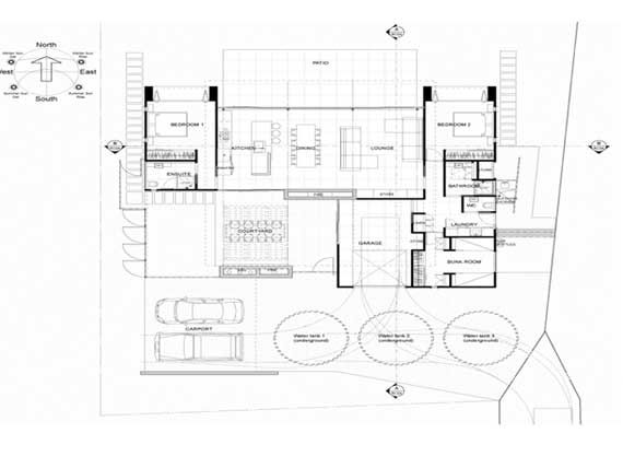 Modern And Beautiful Beach House Plans From Pacific Environments Interior Decorating House
