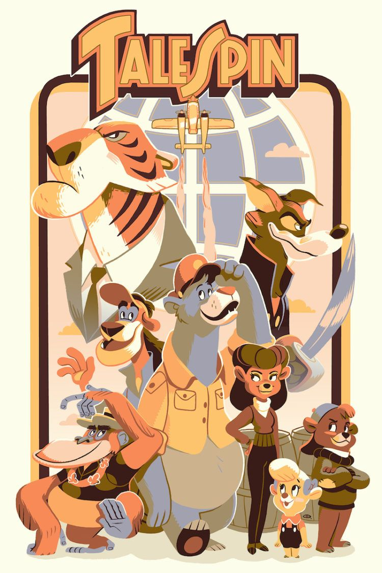 Were Taking Home This Exclusive Cyclops Print Works Talespin