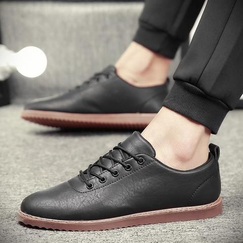 Soft Rubber Flat Male Shoes is part of Rubber flats - Soft Rubber Flat Male Shoes Outfit Accessories From Touchy Style    Free International Shipping    Black, Brown, Business, Casual Shoes, Comfortable, Daily Use, Fashion, Flat, For Boy, For Friend, For Men's, For Teenager, Gray, Outfit Accessories, Simple