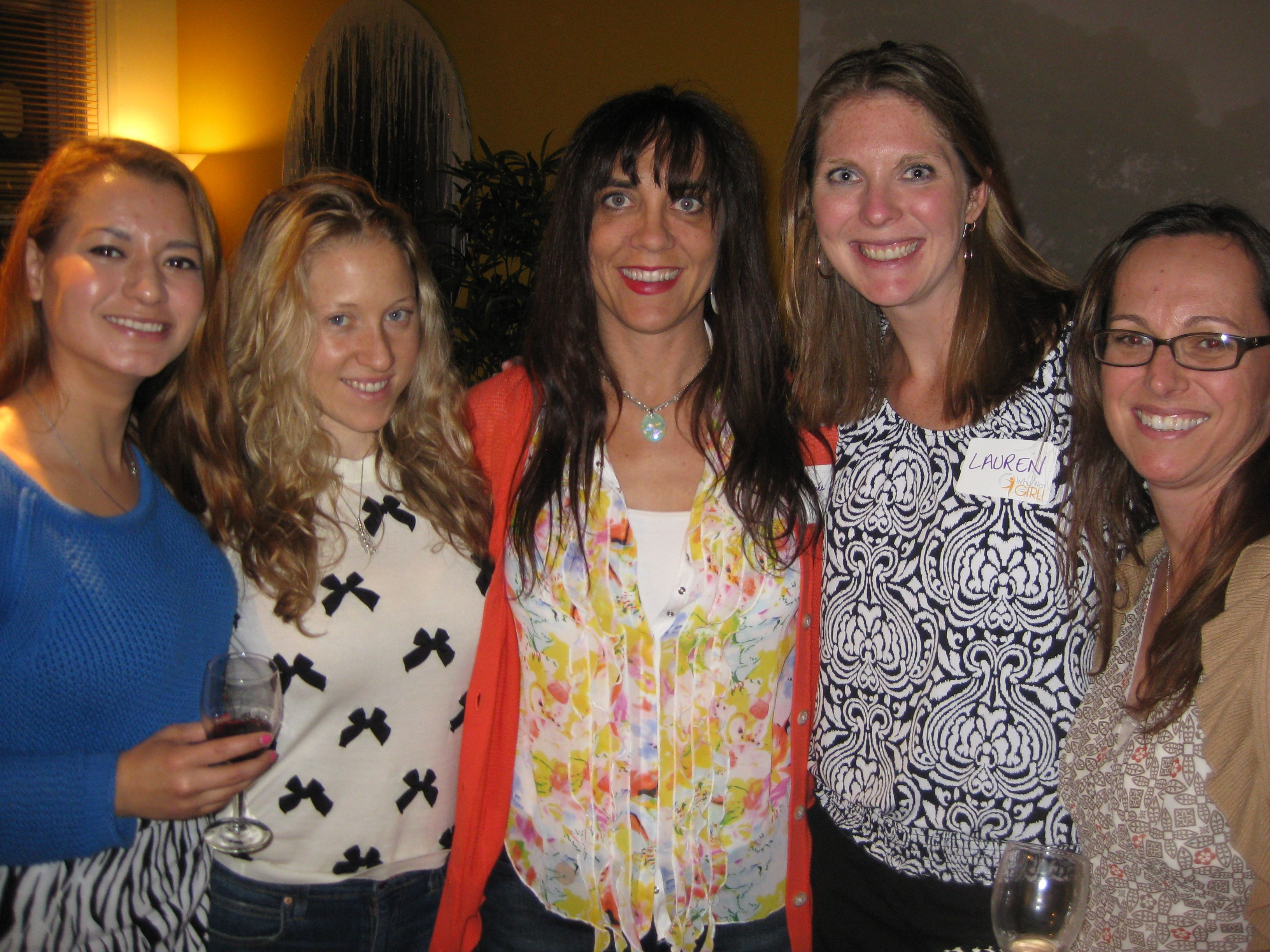 Why Not Girl! Say Why Not! to Wine Tasting Party / May 9, 2013