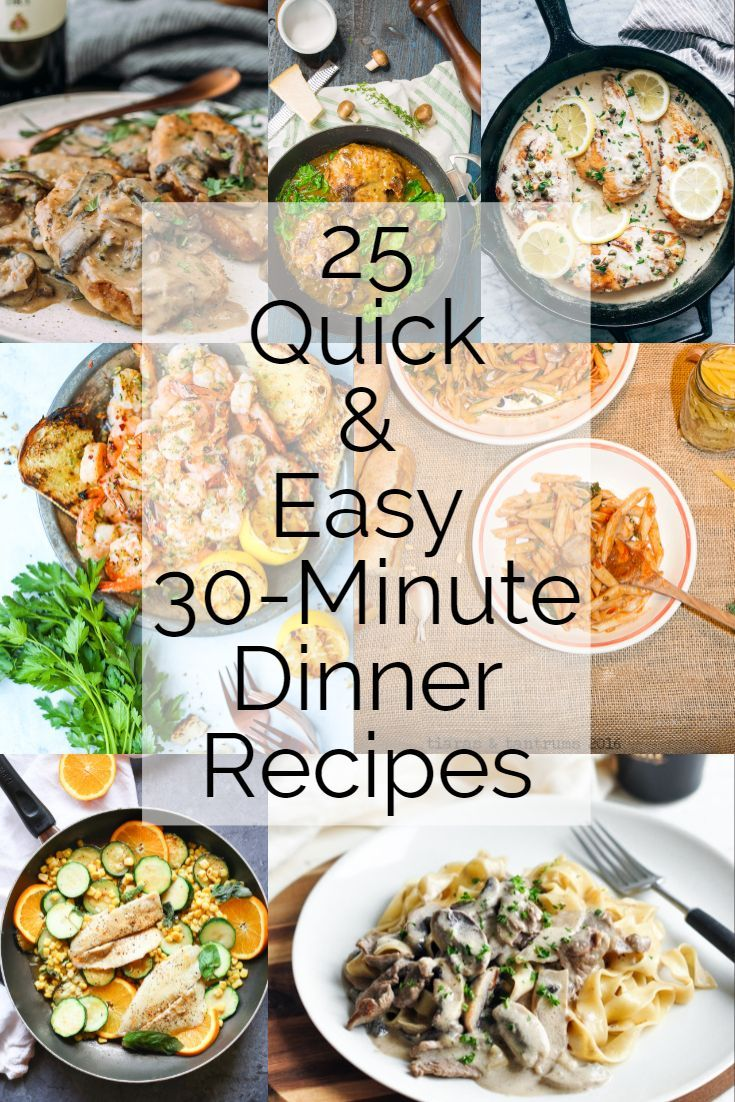 25 Quick and Easy 30-Minute Dinner Recipes images