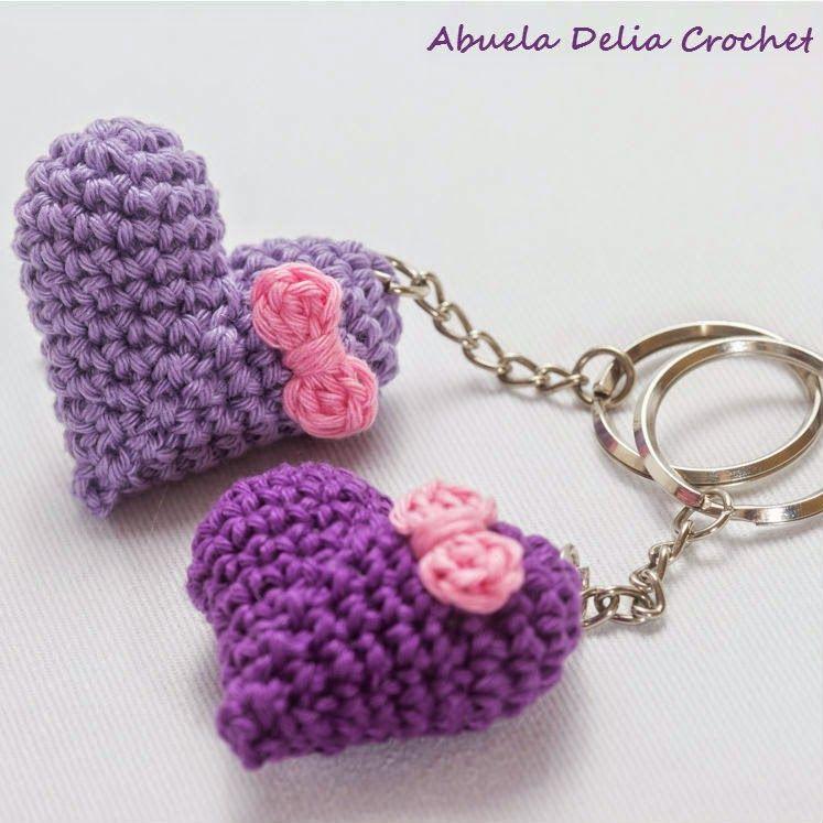 Llavero Corazón   Heart Key Ring   Avelina   Pinterest