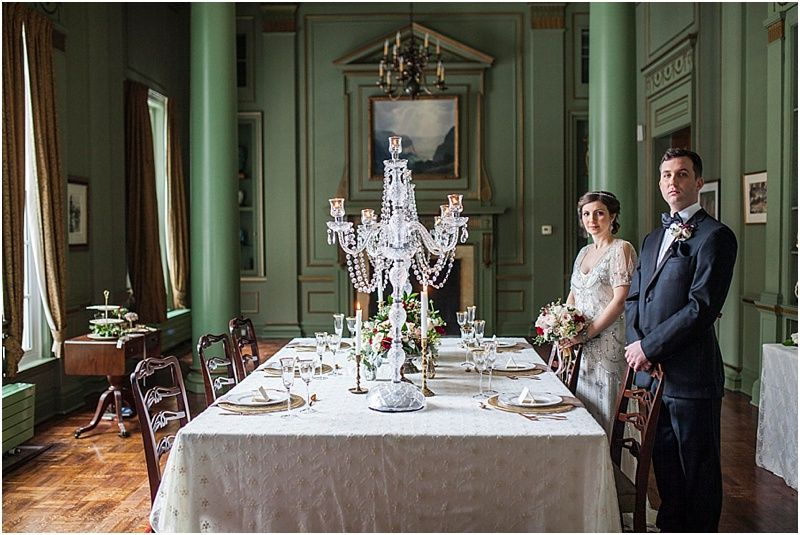 University Club Toronto Wedding Stylized Inspired By The Edwardian Era And Downton Abbey Television Show