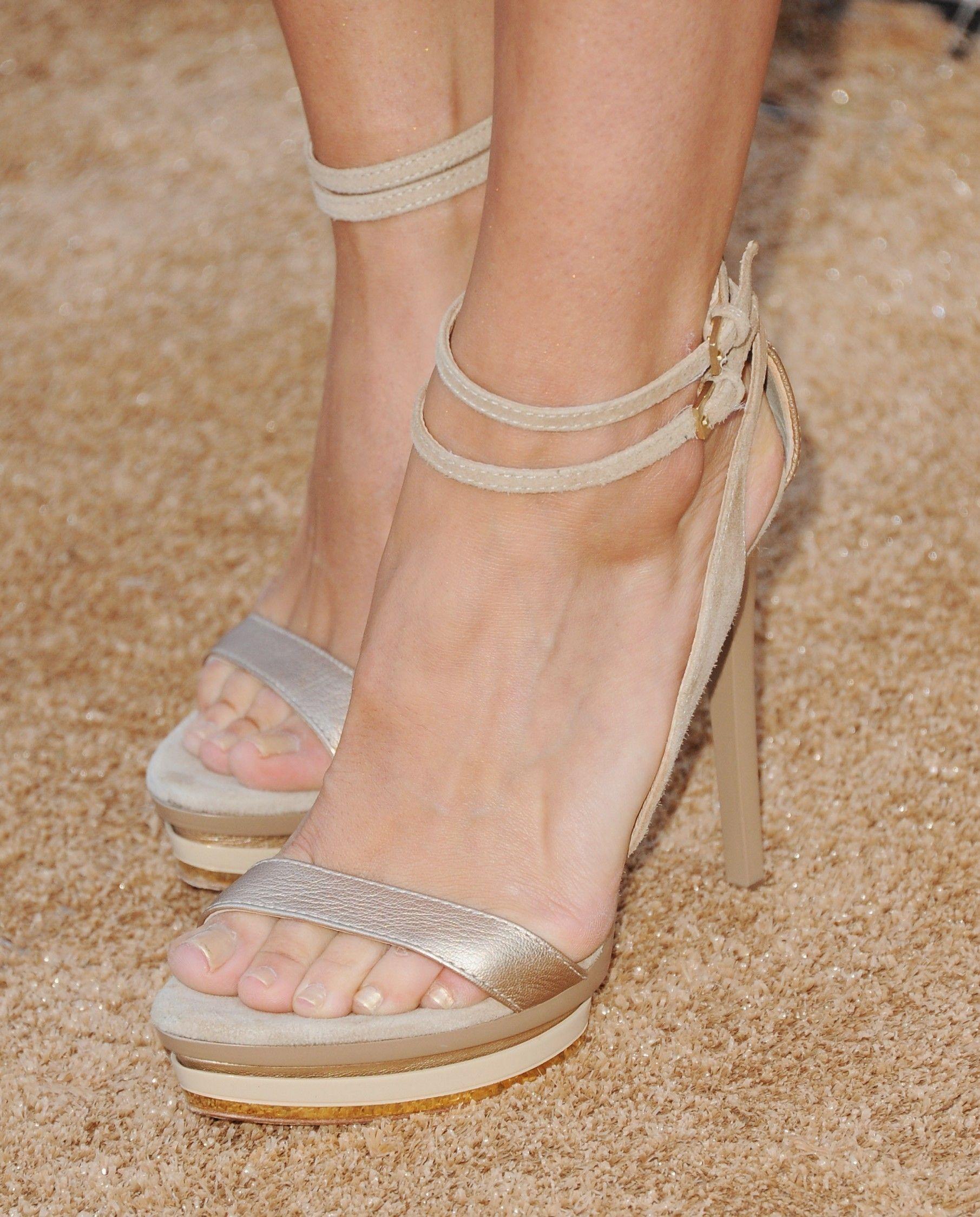 Meghan Ory Feet