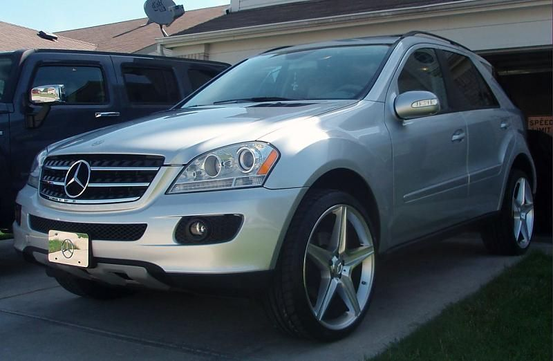Mercedes benz ml350 rims click image for larger for 2008 mercedes benz ml350