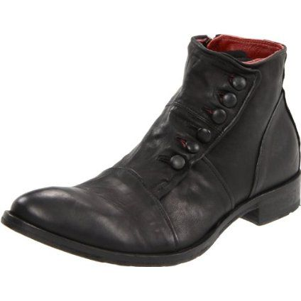 Jo Ghost Men's 1224 Boot in Nero