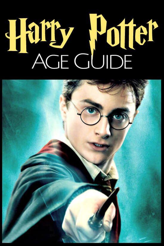 Harry Potter Age Guide Harry Potter Age Harry Potter Books For Boys