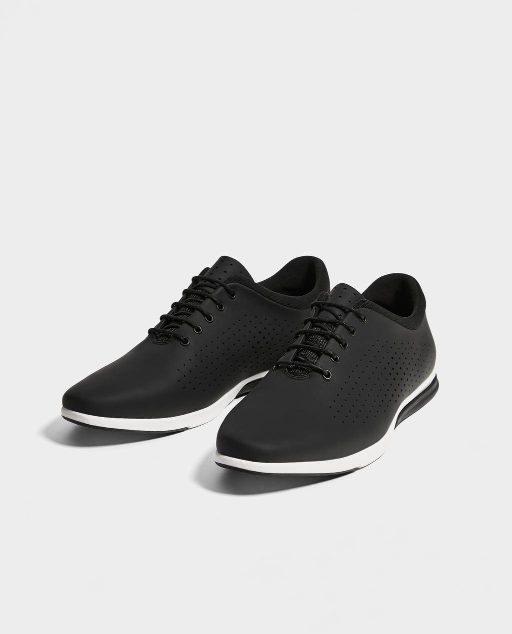 zapatos skechers 2018 negra zara