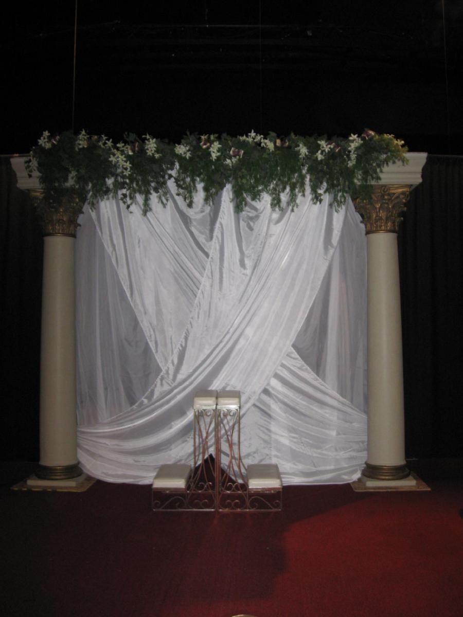Greek Themed Wedding At Lifegate Church Omaha Ne Pinterest