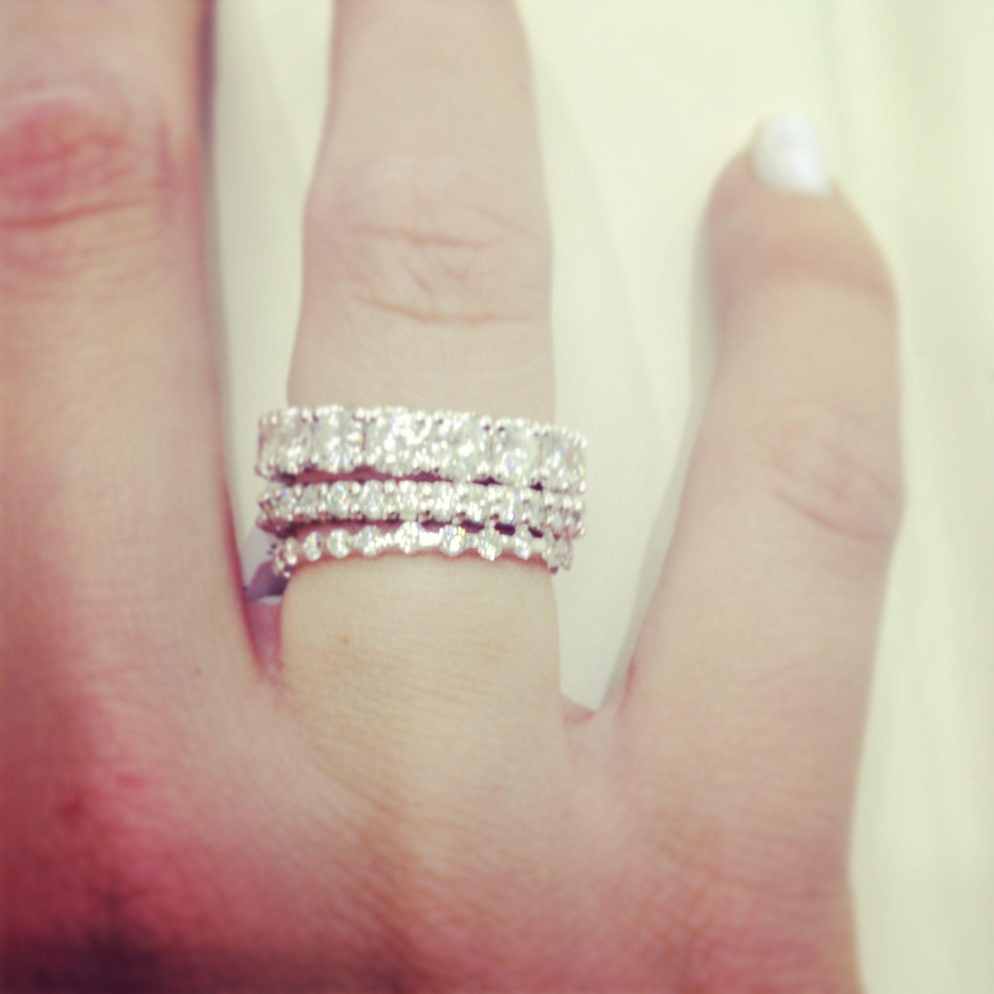 Eternity Diamond Bands Www Kooshjewelers Com Anniversary Rings